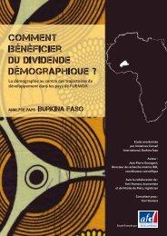 Burkina Faso - Agence Française de Développement