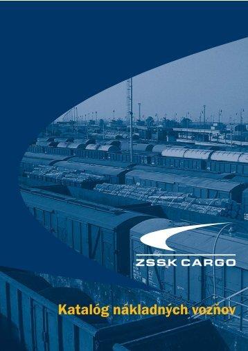 Katalóg nákladných vozŁov - ZSSK Cargo
