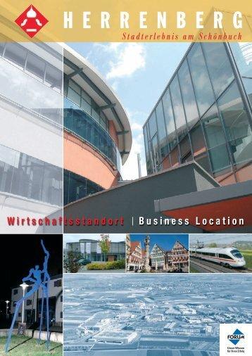 Download Standortmagazin Herrenberg als  PDF-Dokument (6958 KB