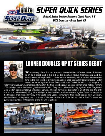 SUPER QUICK SERIES - NHRA.com