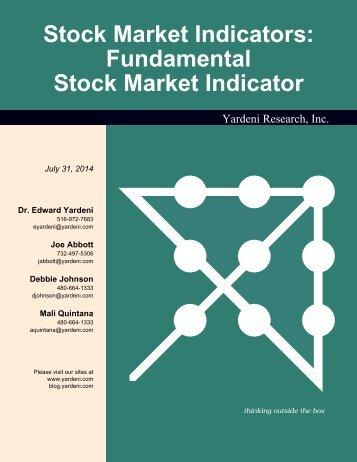 Fundamental Stock Market Indicator