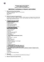 medicina di urgenza p.s. 09-10