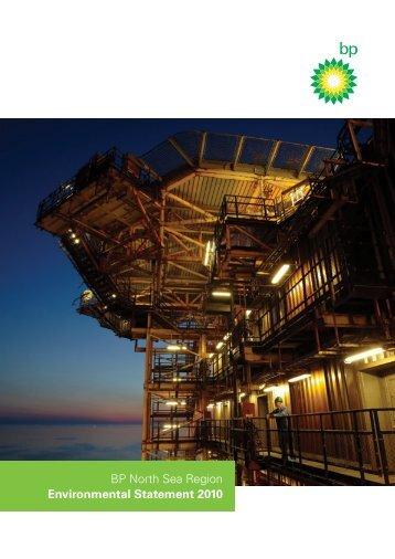 BP North Sea Region Environmental Statement 2010