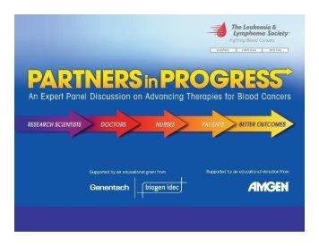 Program Slides - The Leukemia & Lymphoma Society