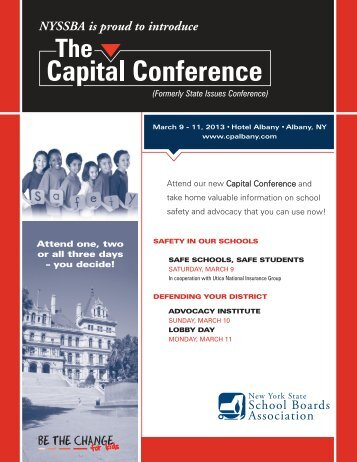 The Capital Conference - New York State School Boards Association