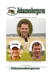 Nr 2 2010 från Johannesberg Golf & Country ... - IdrottOnline Klubb