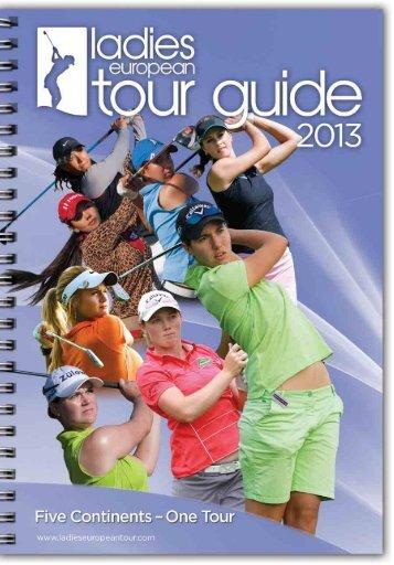 2013 LET Tour Guide (pdf) - Ladies European Tour
