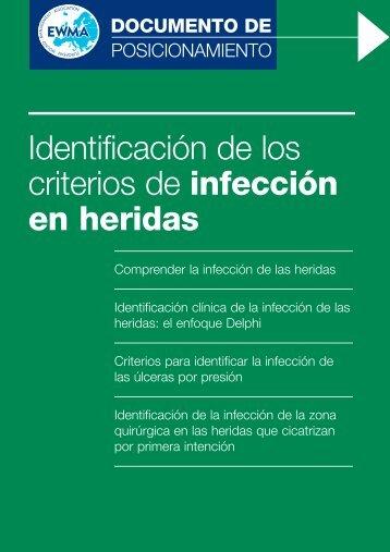 Identificación de los criterios de infección en heridas - EWMA