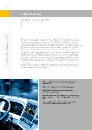 Pupitres de commande SICMA-Control - contact@epi-groupe.com