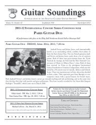 Guitar Soundings, v.53 n.2 (March/April 2012) - Seattle Classic ...