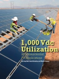 Read more about 1000 VDC operation in Solar Pro ... - SMA America