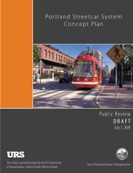 Portland Streetcar System Concept Plan - Reconnecting America