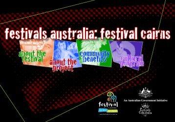 Festivals Australia: Festival Cairns