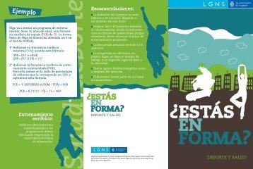 Triptico forma física - Ayuntamiento de Leganés