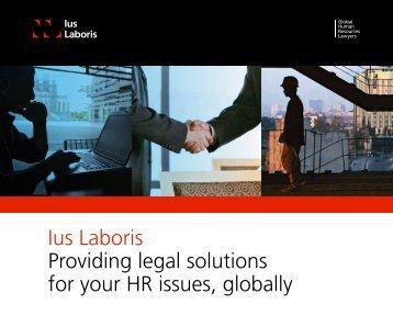 Download Brochure - Ius Laboris