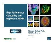 High Performance Computing and Big Data at NERSC
