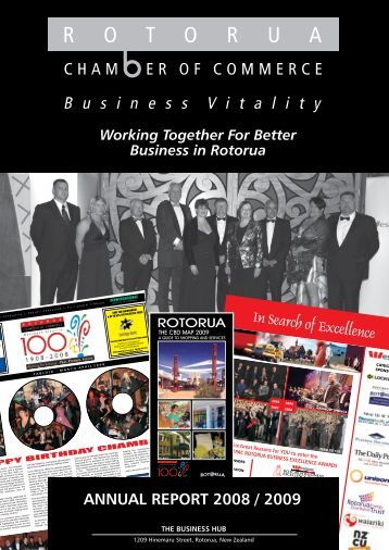 ANNUAL REPORT 2008 / 2009 - Rotorua Chamber of Commerce