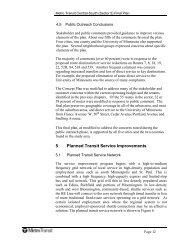 5 Planned Transit Service Improvements - Metro Transit