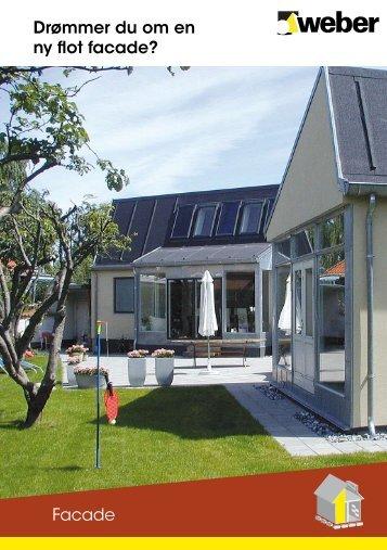 Drømmer du om en ny flot facade? Facade - Weber