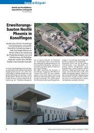Sonderheft Bauten im Blickpunkt 2/2012 - IE Engineering Group AG