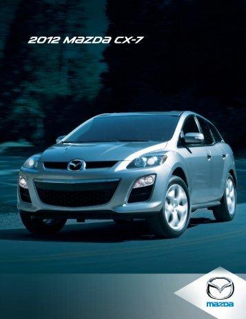 2012 M{zd{ CX-7 - Mazda Canada