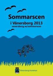 årets program - Vänersborgs kommun