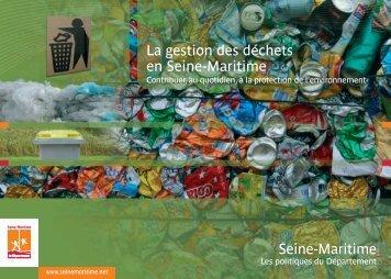 plaquette sur la gestion des déchets - Département de Seine-Maritime