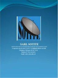 sarl sotite - Made-in-algeria.com