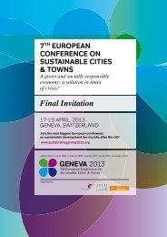 Final Invitation - Geneve 2013