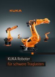 KUKA Roboter für schwere Traglasten - KUKA Robotics