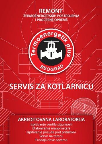 SERVIS ZA KOTLARNICU - Termoenergetik plus Beograd