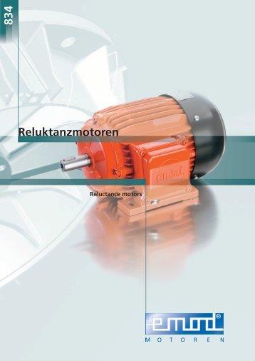 Reluktanzmotoren 834 - Emod Motoren GmbH