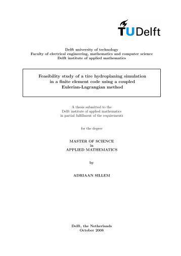 tu delft thesis archive