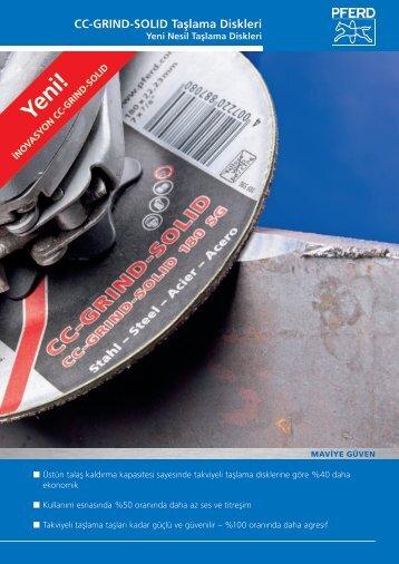 CC-GRIND-SOLID Taşlama Diskleri - PFERD