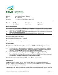 Minutes: Executive Committee Meeting Date: March 3, 2010 ...