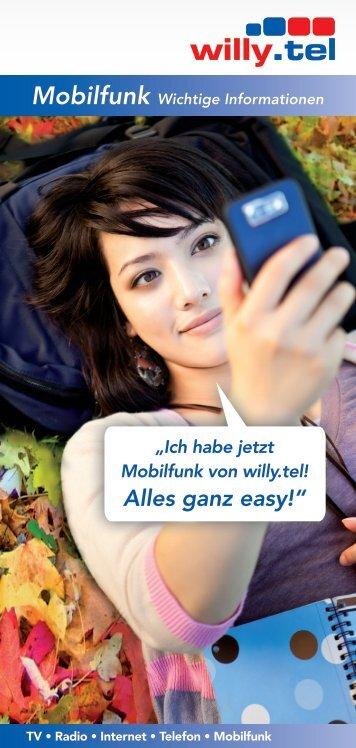 Mobilfunk Wichtige Informationen - Willy.Tel