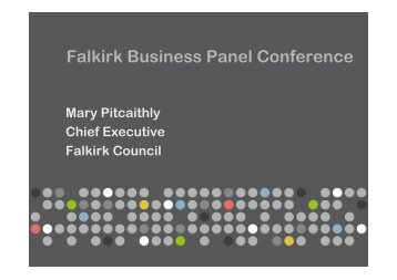 Falkirk Business Panel Conference - My Future's in Falkirk