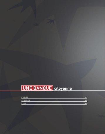 UNE BANQUE citoyenne - BNP Paribas