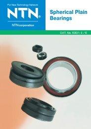 Spherical Plain Bearings - NTN