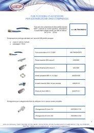 tubi flessibili e accessori per distribuzione aria compressa - Sea