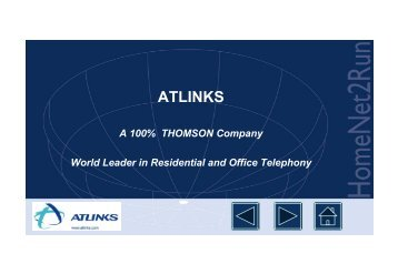 ATLINKS in the ITEA Research framework - Hitech Projects