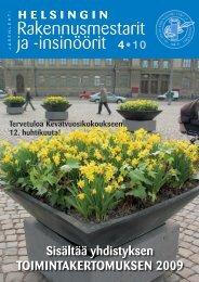 Yhdistyksen jäsenlehti 4/10, PDF tiedosto - Helsingin ...