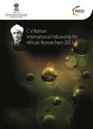 C V Raman International Fellowship for African Researchers