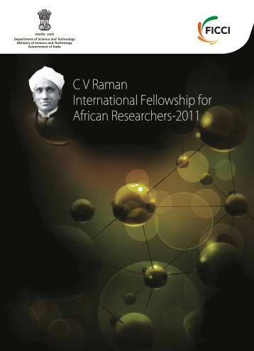 C V Raman International Fellowship for African Researchers