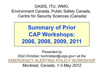 Montreal, Canada, 1-3 May 2012 - Events - Oasis