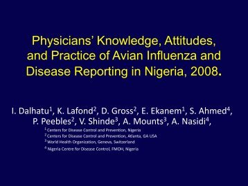 A Survey of Knowledge, Attitudes, and Practices Related to ... - PSA