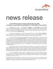NEWS RELEASE - FOR IMMEDIATE RELEASE - Bolsa