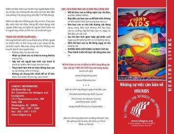 Những sự việc căn bản về HIV/AIDS