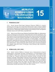 bab 15: memupuk pembangunan keluarga dan masyarakat - EPU