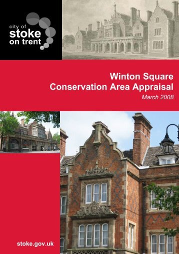 Winton Square Conservation Area Appraisal - Stoke-on-Trent City ...
